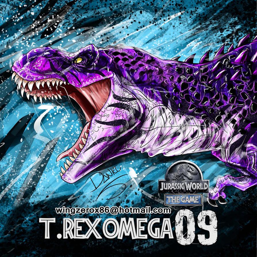 T Rex Omega 09 By Wingzerox86 On Deviantart