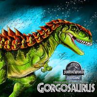 Gorgosaurus by wingzerox86
