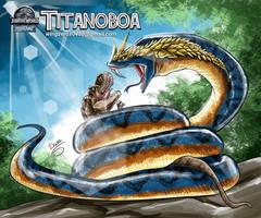 Titanoboa by wingzerox86