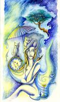 Blue Smoke by TrollGirl