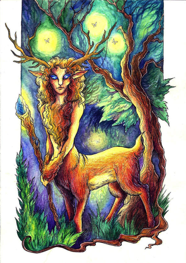 Forest Guardian by TrollGirl