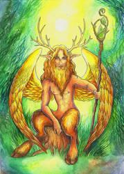 Horny God by TrollGirl