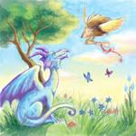 Dragon-Hedgehog Collab