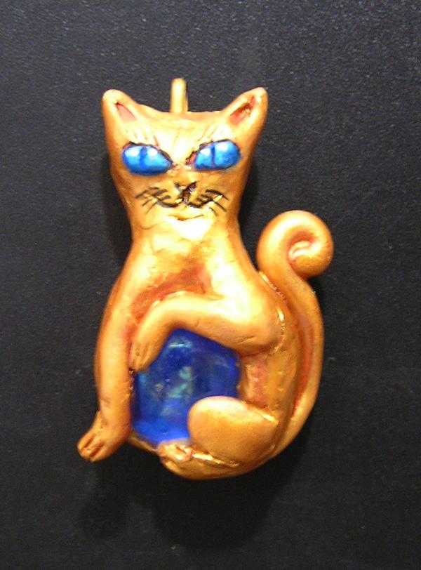 Cat Charm by TrollGirl