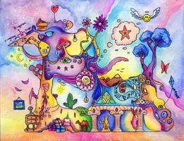Colored Dream by TrollGirl