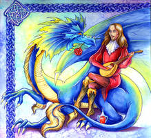 George and the Dragon by TrollGirl