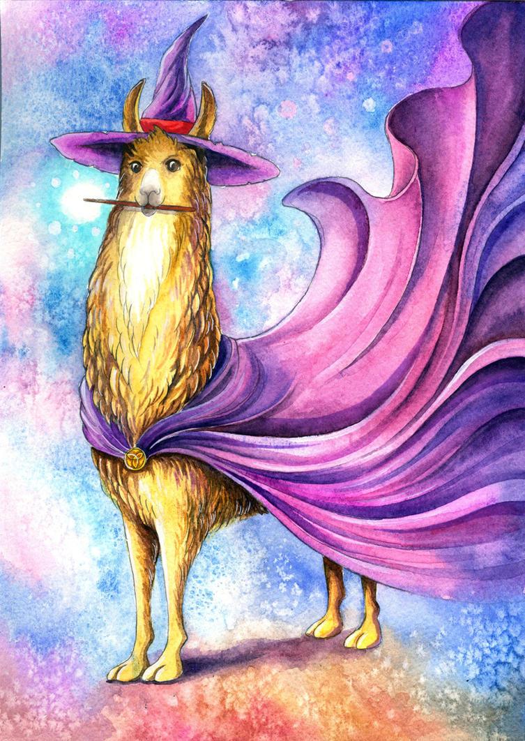 Wizard Llama by TrollGirl