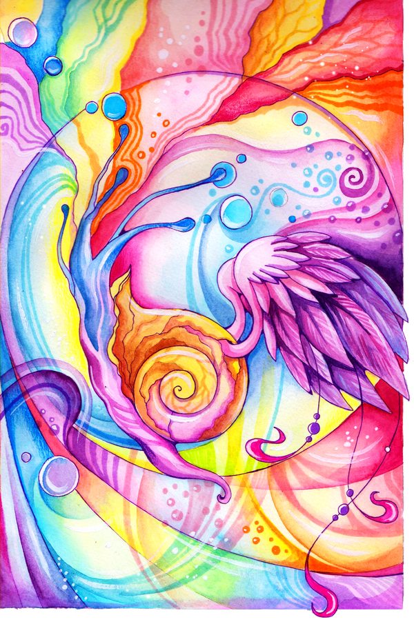 Celestial Snail by TrollGirl