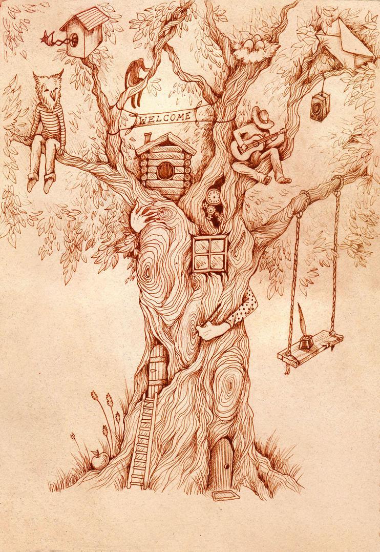 Tree by TrollGirl