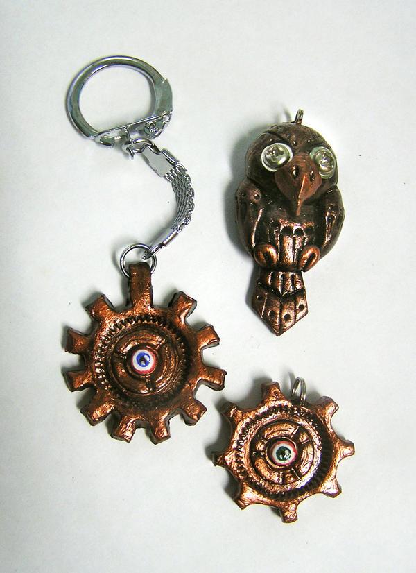 Steampunk stuff by TrollGirl