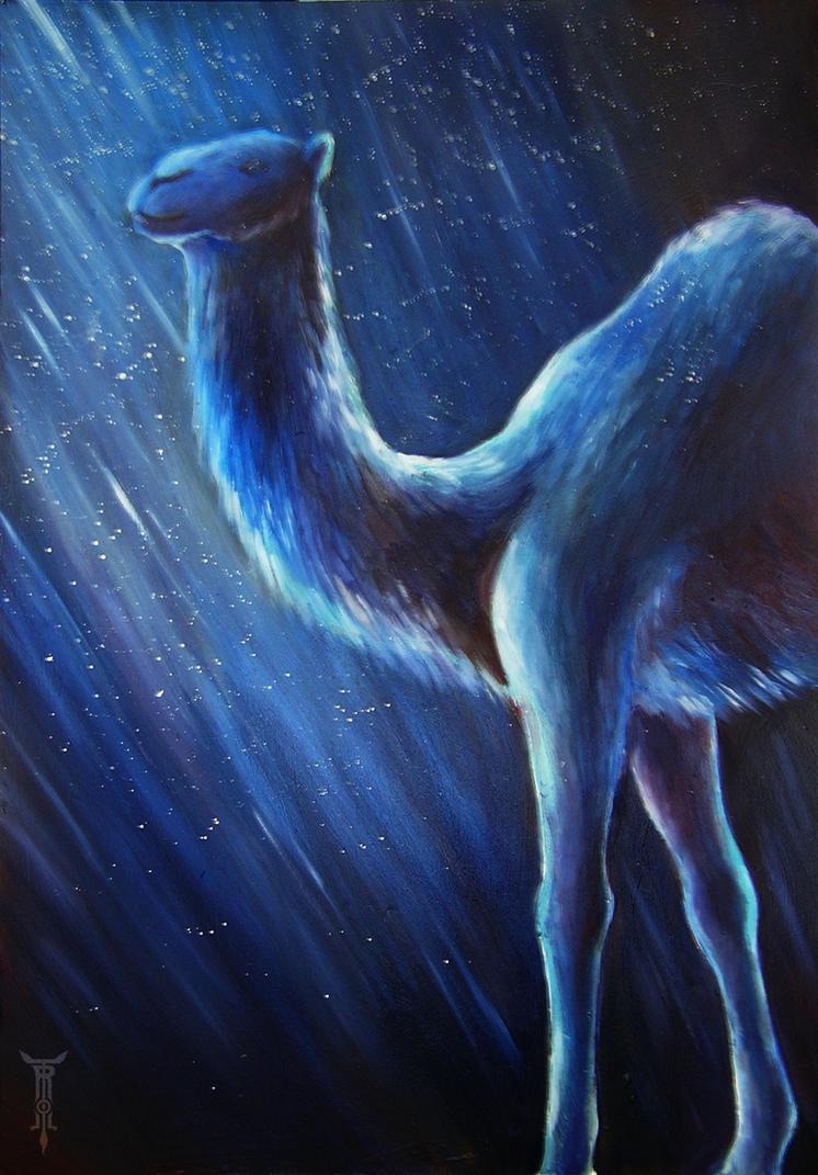 Celestial camel by TrollGirl