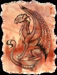 Redscale dragon I