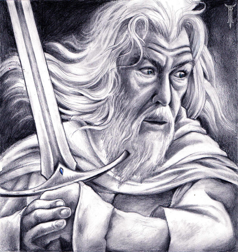 Gandalf the White by TrollGirl