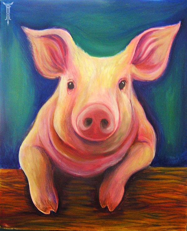 Piggles by TrollGirl