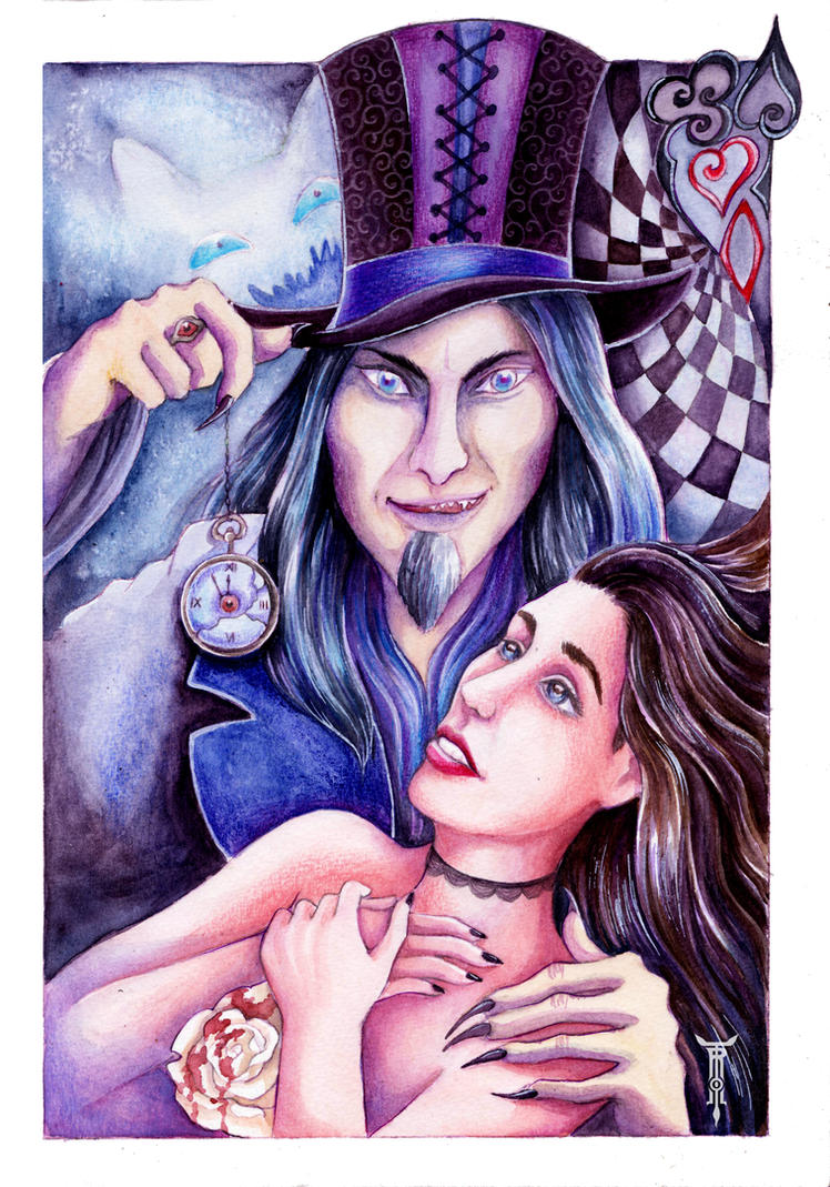 Alice in the dark by TrollGirl