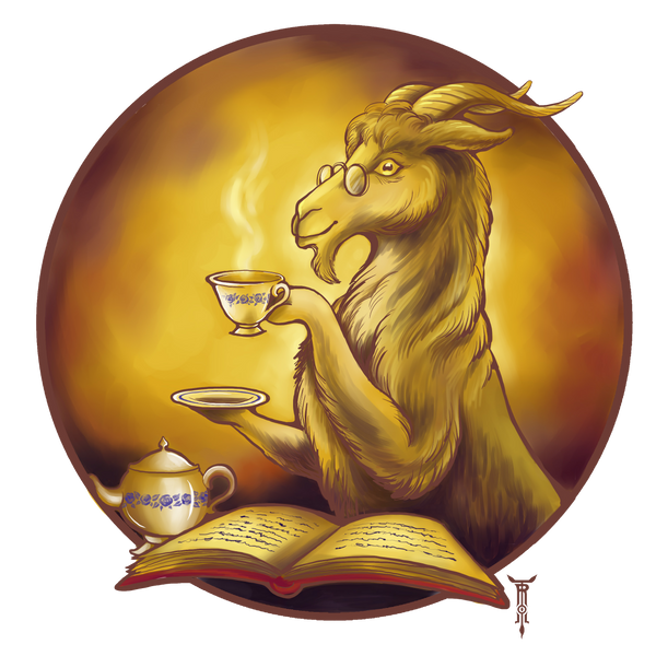 Golden Goat by TrollGirl