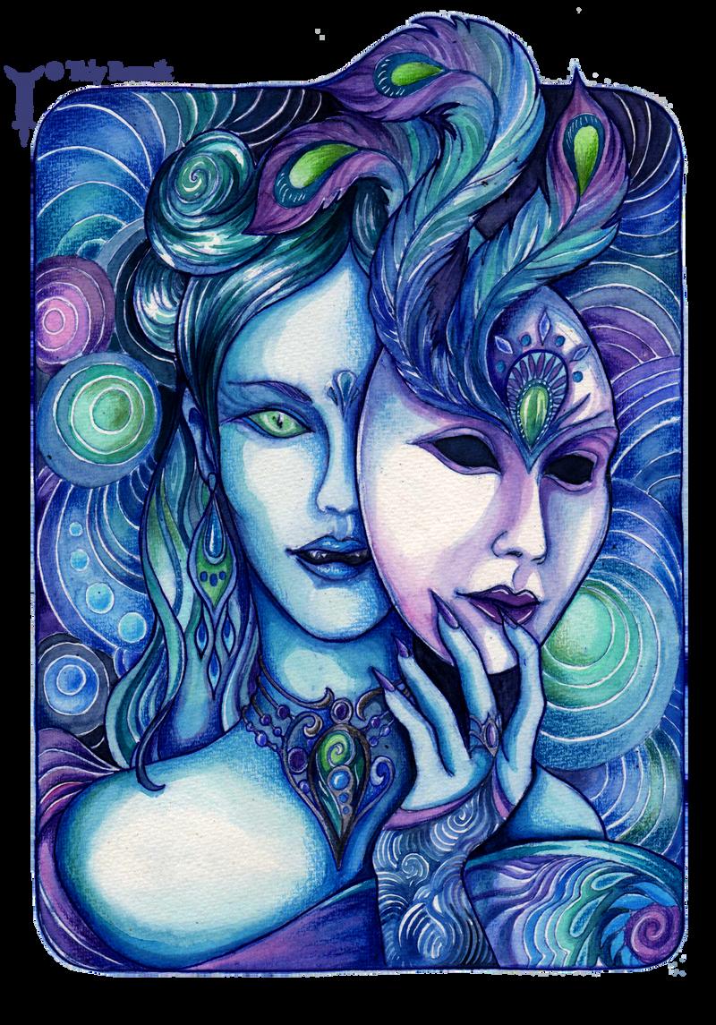 Aquamarine Queen by TrollGirl