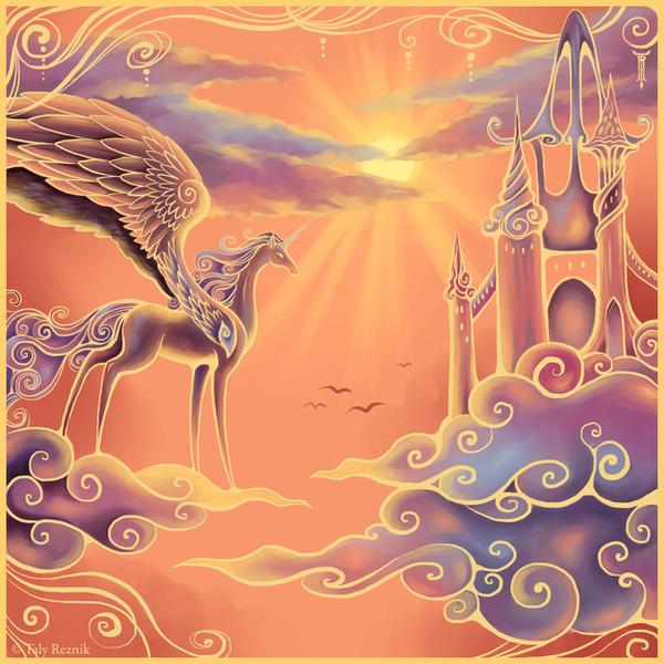 Castle in the Sky by TrollGirl