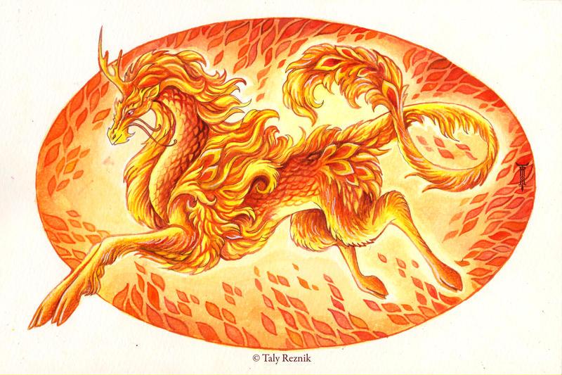 Fire Kirin by TrollGirl