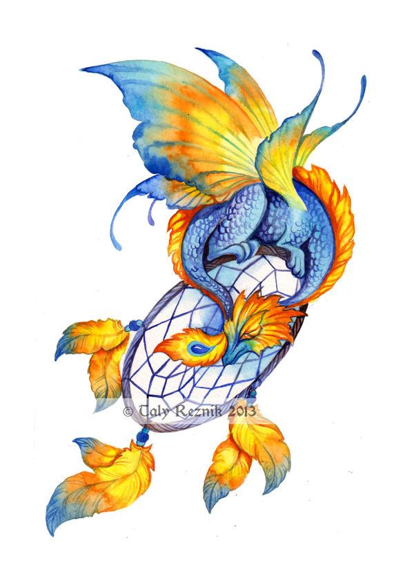 Summer dream dragon by TrollGirl
