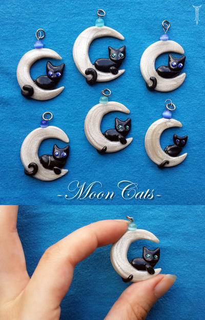 MoonCats by TrollGirl