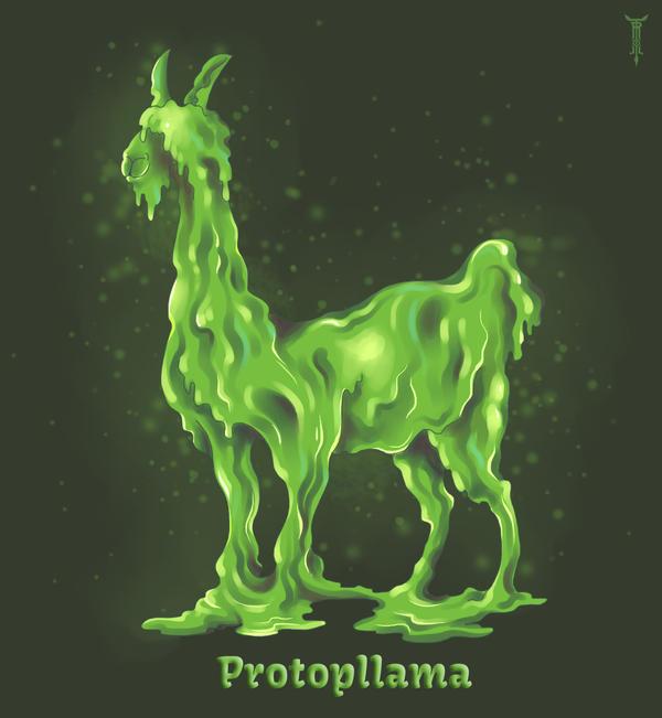 Daily Llama Project - Protopllama by TrollGirl