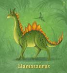 Daily Llama Project - Llamasaurus