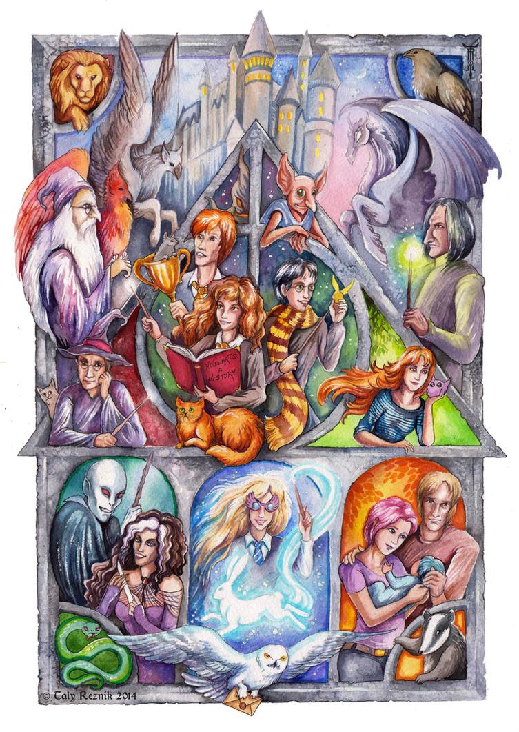 Harry Potter by TrollGirl