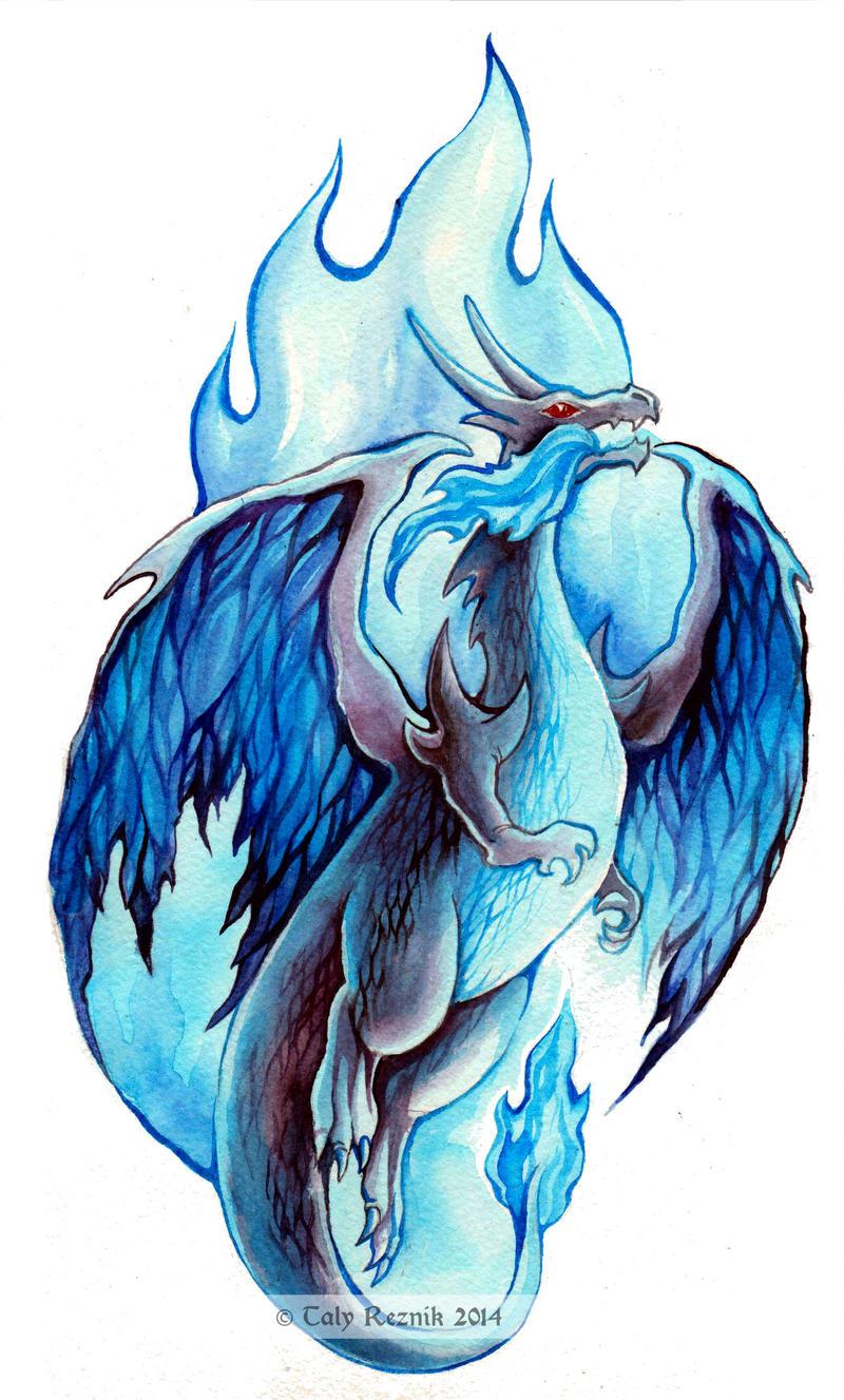 Azure Flame by TrollGirl