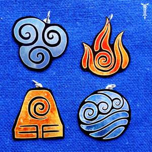 Avatar nations pendants