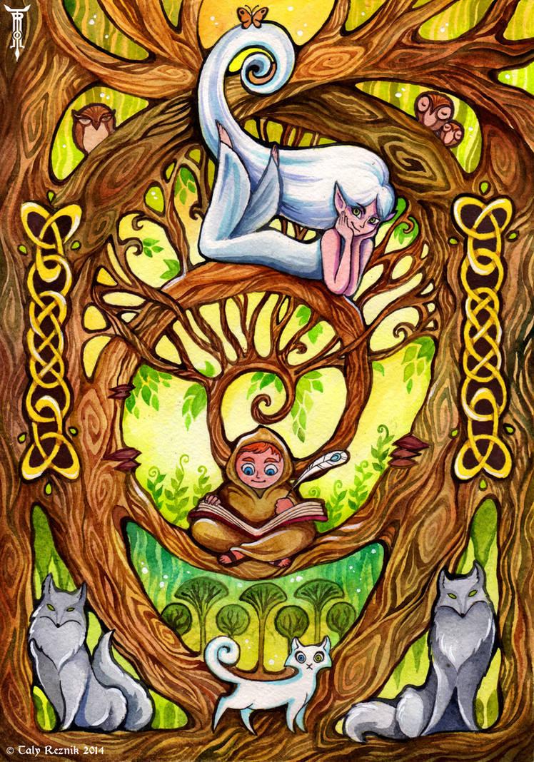 In The Oak Tree by TrollGirl