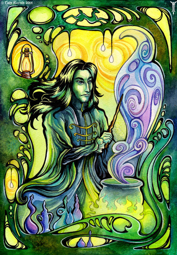 Snape Noveau by TrollGirl