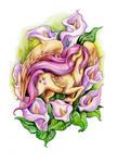Flower Ponies - Fluttershy by TrollGirl
