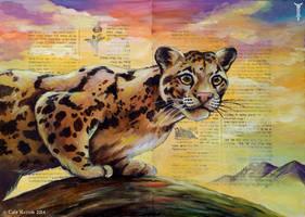 Cloud Leopard by TrollGirl
