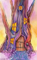 Tree House by TrollGirl