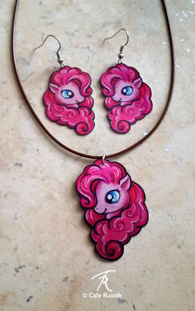 Pinkie Pie Jewelry Set by TrollGirl