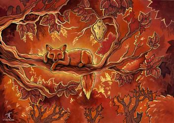 Autumn Falls Asleep by TrollGirl