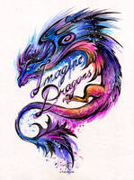 Imagine Dragons by TrollGirl