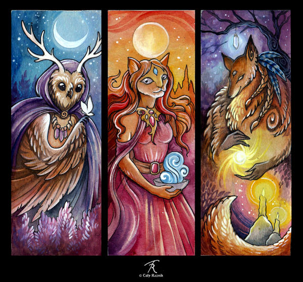 Night, Day, Twilight by TrollGirl