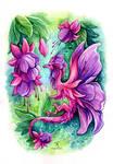 Fuchsia Fairy Dragon