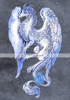 Angel Dragon by TrollGirl