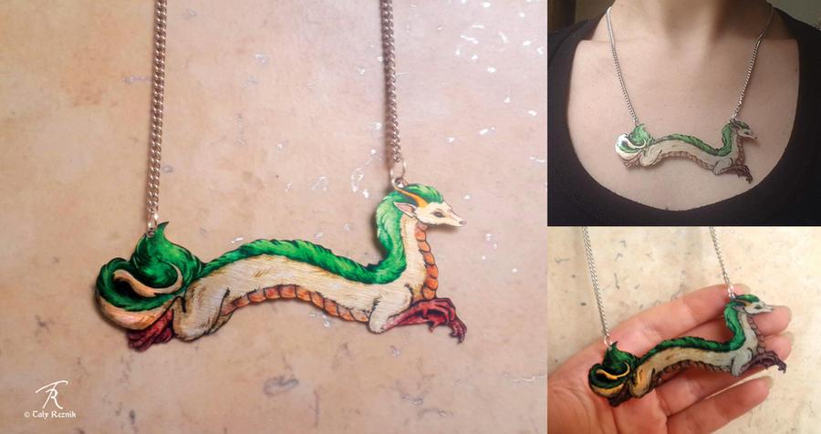 Haku Necklace by TrollGirl