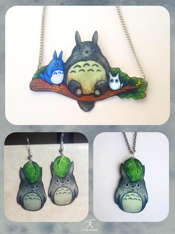 Totoros by TrollGirl