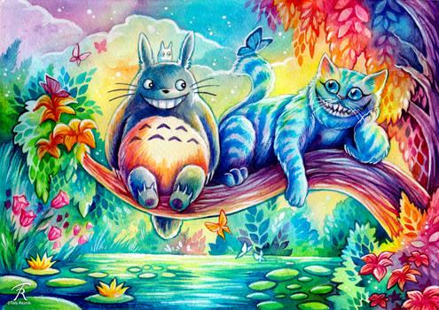 Chesh and Totoro