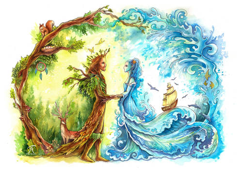 Forest King, Ocean Bride