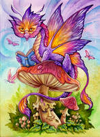 The Literate Dragon by TrollGirl