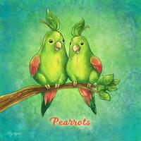 Pearrots by TrollGirl
