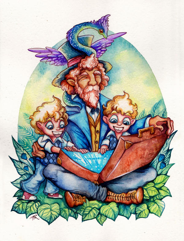 Grandpa's Magic Suitcase by TrollGirl