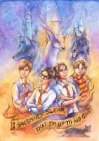 Marauders by TrollGirl