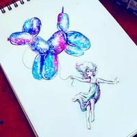 Inktober#13 2017 by TrollGirl